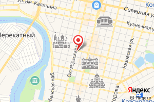 Адрес Мегаватт на карте