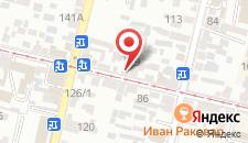 Хостел Loft на карте