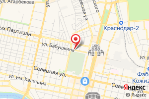 Адрес Кубаньгазификация на карте