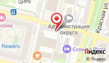 Отель & Хостел Telegraf на карте