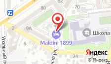 Отель Genoff на карте