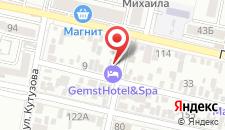 Отель Корона на карте