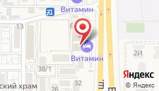 Отель Витамин на карте