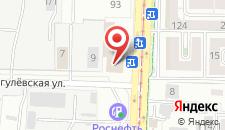 Отель Олива на карте