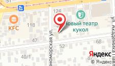 Гостевой дом Гостевой дом на Кавказской на карте