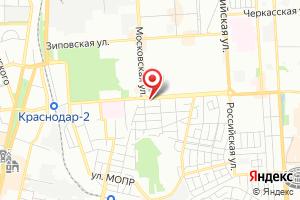 Адрес Газпром межрегионгаз Краснодар, Участок № 3 в г. Краснодаре на карте