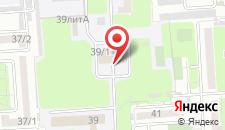 Гостиница Сосновая роща на карте