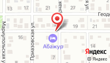 Апартаменты Абажур на карте