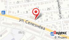 Гостиница Марсель на карте