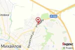 Адрес Газпром газораспределение Рязанская область, филиал в г. Скопине, Михайловский участок на карте