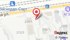 Гостиница Vospari на карте