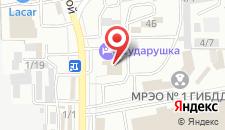 Ресторанно-гостиничный комплекс Сударушка на карте