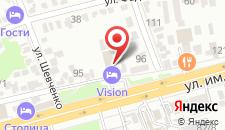 Отель VISION на карте
