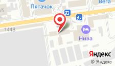 Гостиница Нива на карте