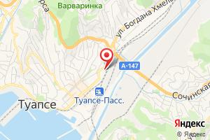 Адрес Филиал НЭСК Туапсеэлектросеть на карте
