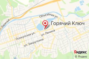 Адрес Газпром межрегионгаз Краснодар, Участок в г. Горячий Ключ, г. Туапсе и Туапсинском районе на карте