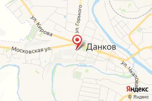 Адрес Газпром межрегионгаз Липецк, подразделение в г. Данкове на карте