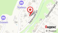 Гостевой дом Белый Пароход на карте