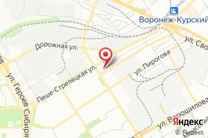 Адрес Газпром газораспределение Воронеж, филиал в г. Воронеже на карте