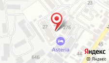 Гостиница Астерия на карте