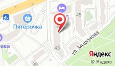 Отель Норд на карте
