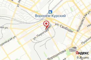 Адрес ВоронежТехноГазСервис на карте