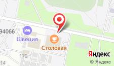 Отель Швеция на карте