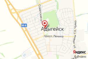 Адрес ТНС энерго Кубань, Теучежский ПУ на карте