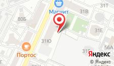 Хостел Крыша на карте