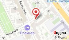 Гостиница Премьер-отель на карте