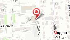 Гостиница Воронежский Дом ученых на карте