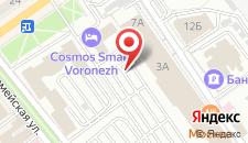 Отель Холидей Инн Экспресс на карте