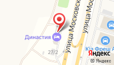 Мини-гостиница Династия на карте