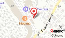 Гостиница Mercure Воронеж Центр на карте