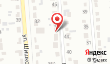 Гостевой дом Берёзовская на карте