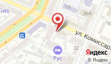 Хостелы Рус - Воронеж на карте