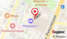 Отель Marriott Voronezh на карте