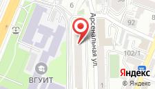 Отель Украина на карте