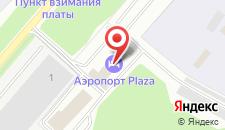 Отель Аэропорт Плаза на карте