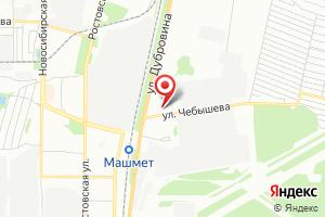 Адрес Газпром газораспределение Воронеж, филиал -Автотранс на карте