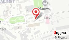 Гостиница Алмаз на карте