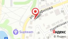 Отель БМ на карте