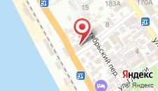 Гостиница Санта-Барбара на карте