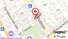 Мини-отель Виктория на карте