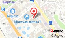 Гостиница Морская Звезда на карте