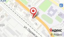Отель Оазис на карте