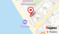 Гостиница Тополь на карте