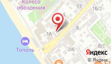 Отель Афалина на карте
