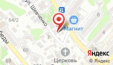 Гостевой дом Мама Ольга на карте