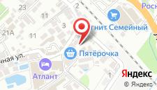Гостиница Эллада на карте